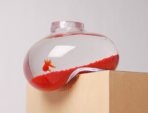 Fish Tank - Aquarium - Glass - Bubble Tank - Psalt Design