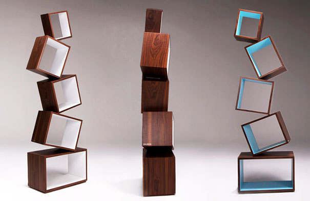 Malagana - Equilibrium Bookcase - book shelf