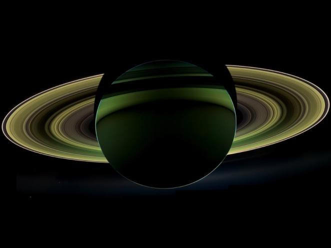 Saturn NASA Cassini