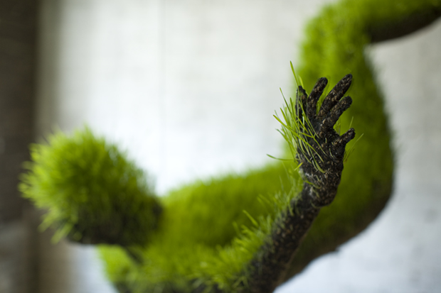 Lives of Grass sculpture Mathilde Roussel