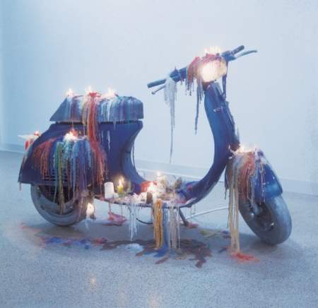 Mark Handforth - Vespa Mixed media. Alexander Schroder