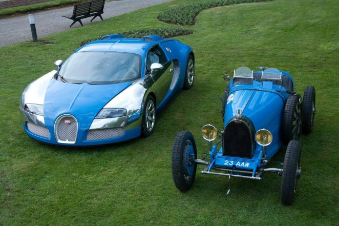 Bugatti luxury sports car Bugatti Veyron