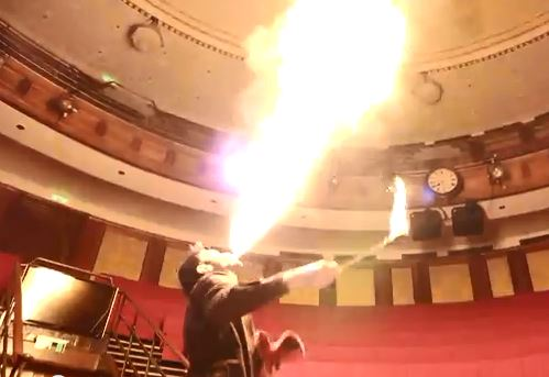 Dr Tim Cockerill Fire Breathing