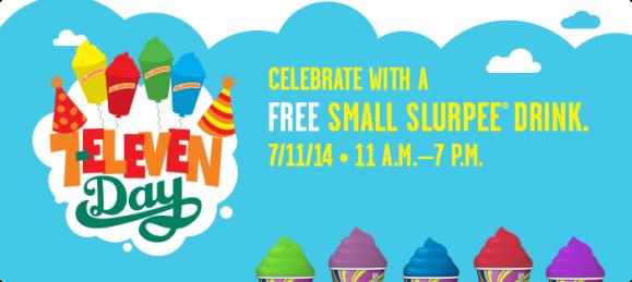 7-Eleven Day Free Slurpee