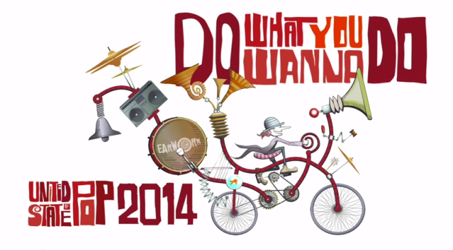 "DJ Earworm - United States of Pop 2014 ""Do What You Wanna Do"""